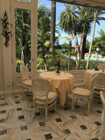 Grand Hotel Royal: Our favourite breakfast table