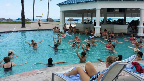 Melia Nassau Beach - All Inclusive: Water exercise