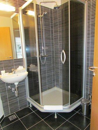 Hotel Fron : A single room bathroom