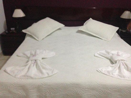 Pousada do Sol: quarto 203 cama de casal