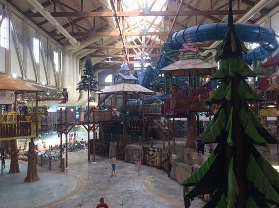 Great Wolf Lodge: The waterpark