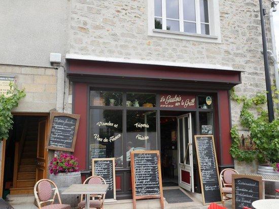 Et le super caf gourmand picture of le gaulois sur - Restaurant le gaulois sur le grill barbizon ...