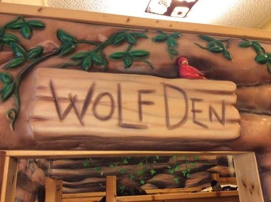 Great Wolf Lodge: The kids room.