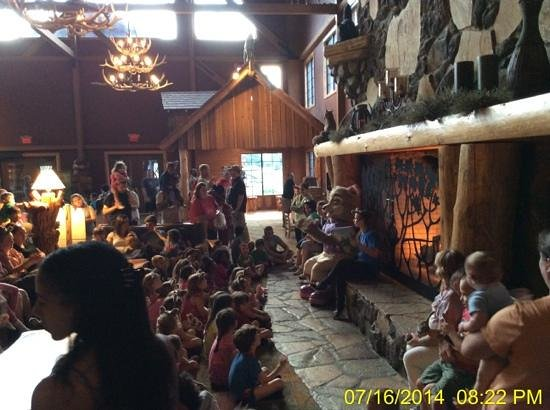 Great Wolf Lodge: Storytime