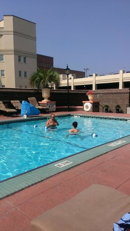 The Mills House Wyndham Grand Hotel: Rooftop Pool