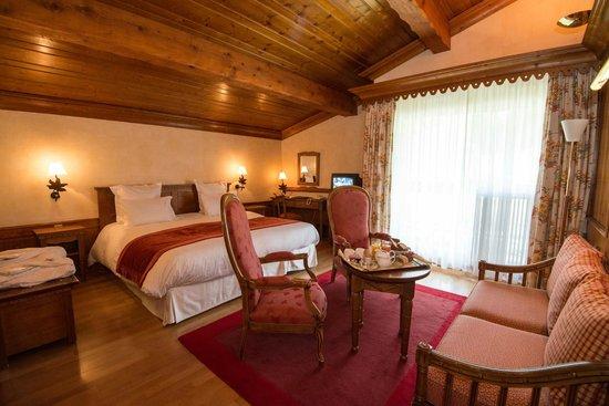 Hotel les Buttes : Chambre privilège