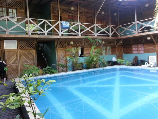 Lizard King Hotel Resort : we stayed on the second floor overlooking the pool