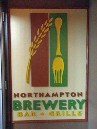 Northampton Brewery : sign