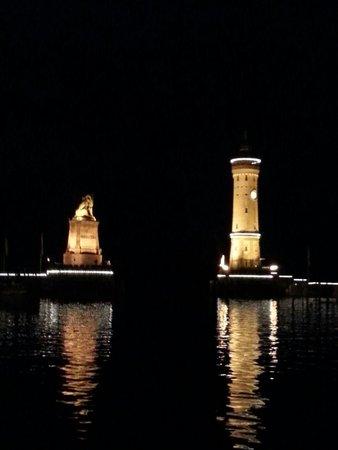 Hotel Helvetia: Night view