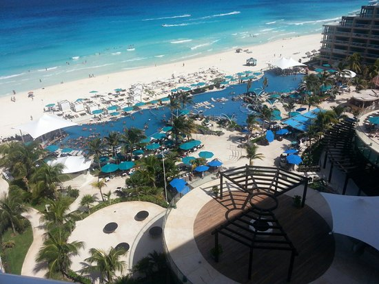 Hard Rock Hotel Cancun: View from Presidential Suite