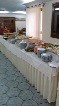 Parco Blu Club Hotel Resort : Buffet antipasti