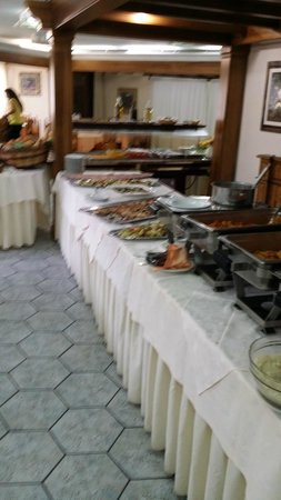 Parco Blu Club Hotel Resort : Buffet primi