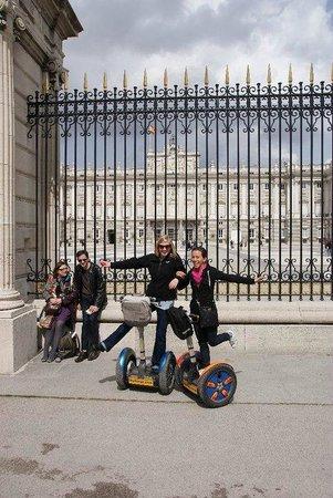 Madsegs Madrid Segway Tours: Royal Palace of Madrid, on Segways!