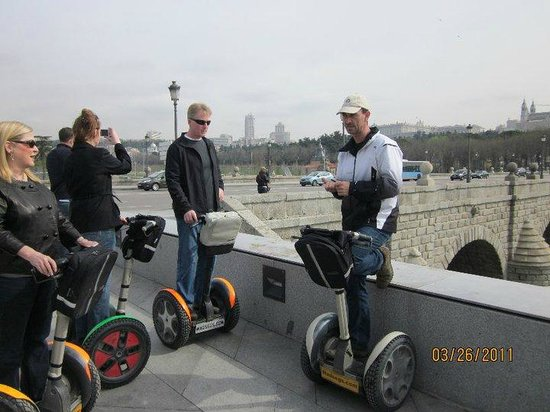 Madsegs Madrid Segway Tours: MadSeg Owner  & Tour guide