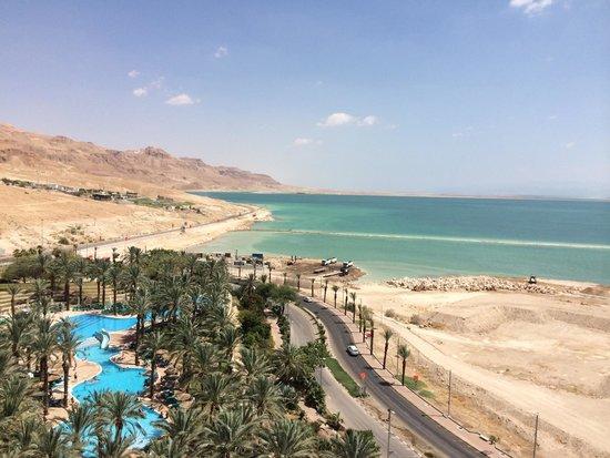 David Dead Sea Resort & Spa: הנוף מהמרפסת