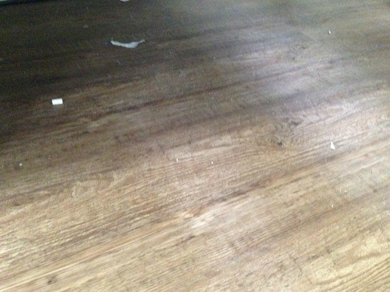 Bob's Youth Hostel: dirty floor