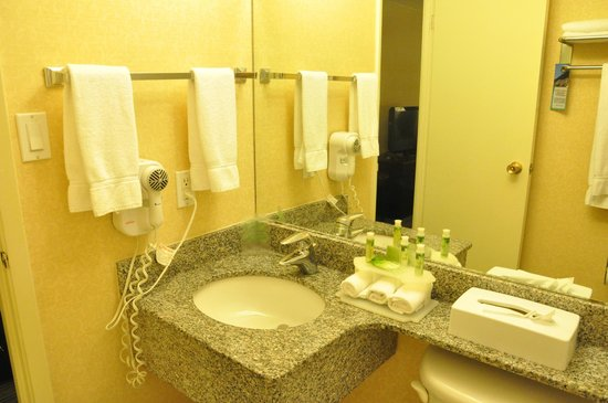 Holiday Inn Express Hotel & Suites Collingwood - Blue Mountain: Bathroom with amenities