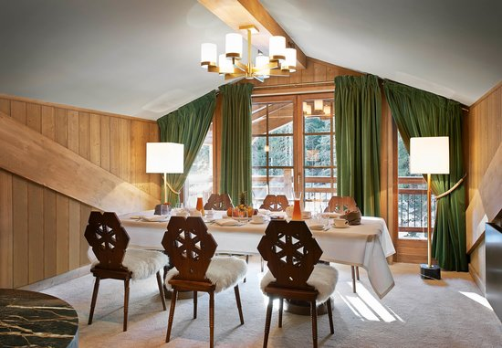 L'Apogee Courchevel: Penthouse's living room