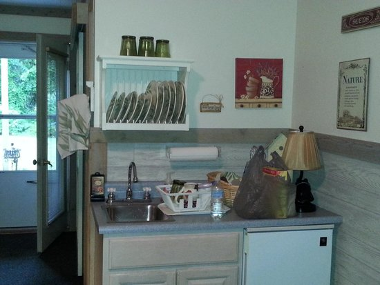 McKenzie House Bed & Breakfast: Kitchenette