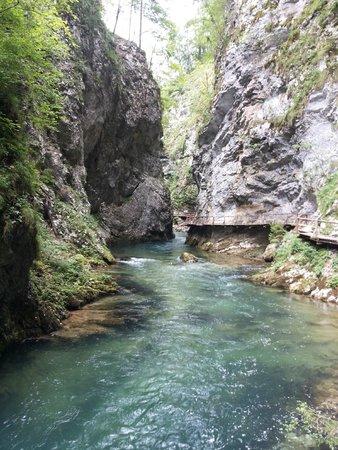 Vintgar Gorge (Soteska Vintgar): La gola
