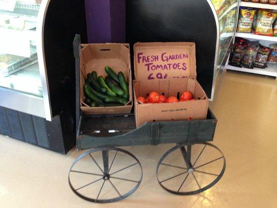 Wine Italiano : frisches Obst und Gemüse