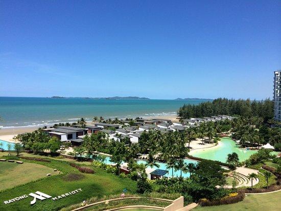 Rayong Marriott Resort & Spa: ocean view room