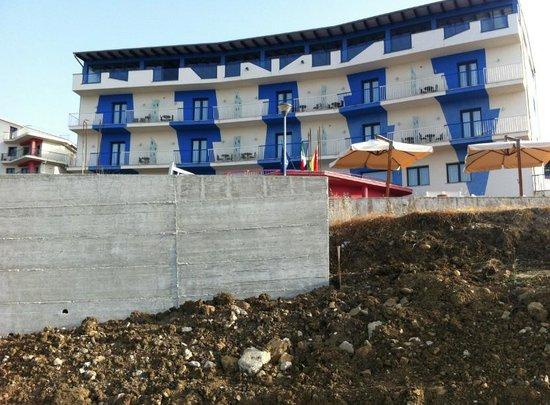 Tus'Hotel: travaux cote mer