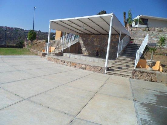 Hotel Guanajuato: Terraza