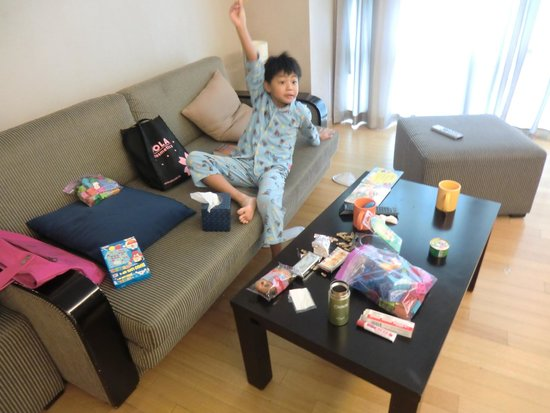Fraser Place Central Seoul: cute niece
