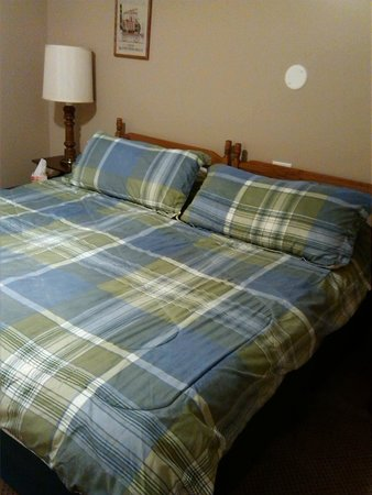 Bridgeview Bed & Breakfast: King Size bed in Juniata Room
