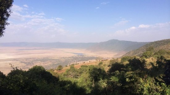 Ngorongoro Serena Safari Lodge: The view from the hotel
