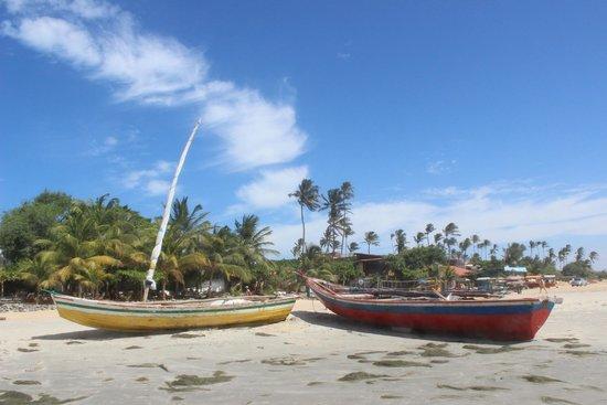 Pousada Naquela Jericoacoara: playa