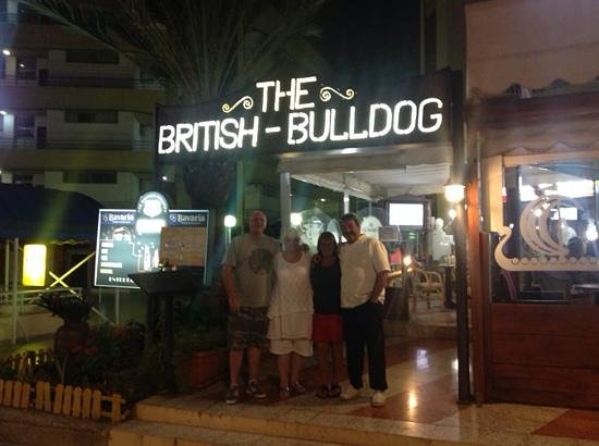 The British Bulldog: fantastc staff