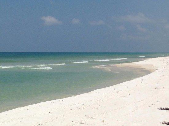 Gulf Islands National Seashore - Florida District: Along the Gulf National Seashore heading towards Langdon Beach