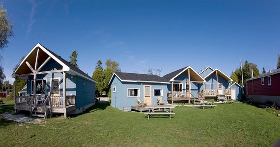 Wireless Bay Cottages: Cottages located on a great waterfront property overlooking Georgian Bay