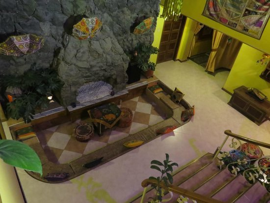 India Chez Moi Boutique Hotel: Chimenea