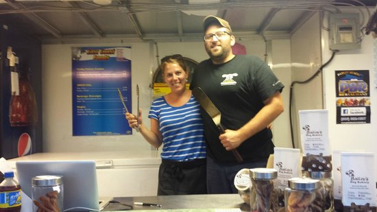 Hillsborough - East Coast Food Truck: Owners are really nice people.
