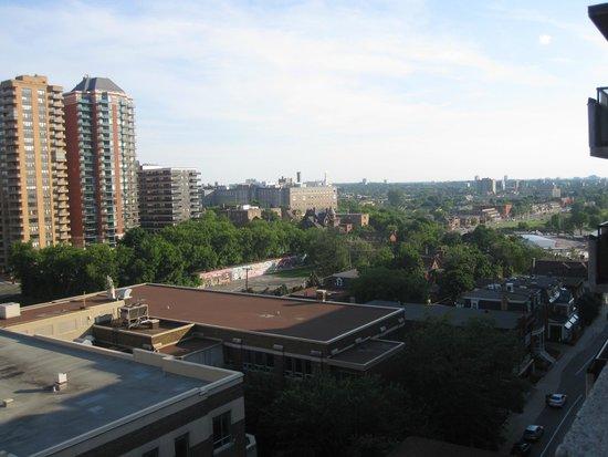 Albert at Bay Suite Hotel: Vue de la terrasse