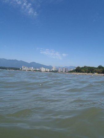 Kitsilano Beach: The view from the water