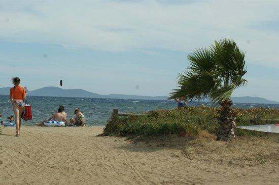 Camping Le Pansard: La plage ! :)