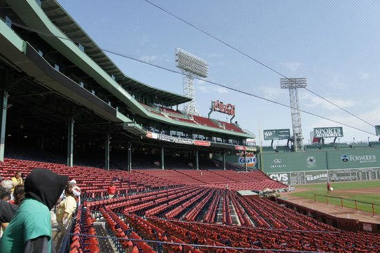 Fenway Park: Seating