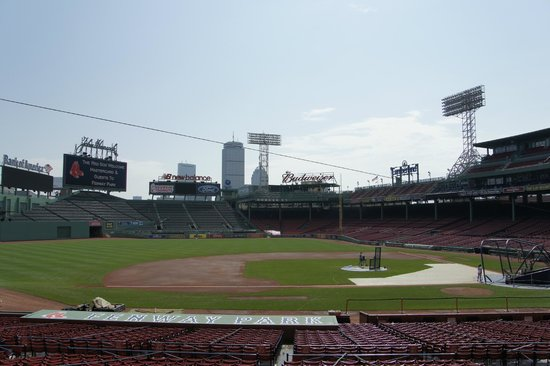 Fenway Park: Outfield