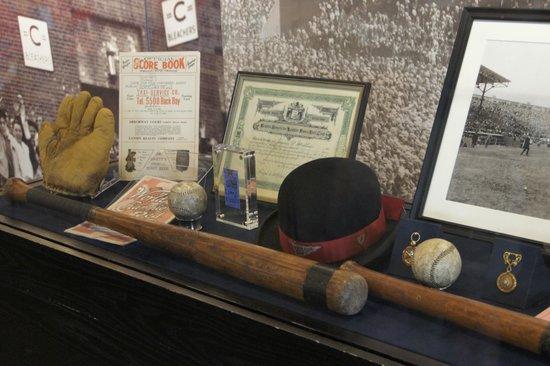 Fenway Park: Museum - Babe Ruth Bat