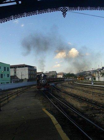 Steam train to Sao Joao del Rei : Maria Fumaça!!