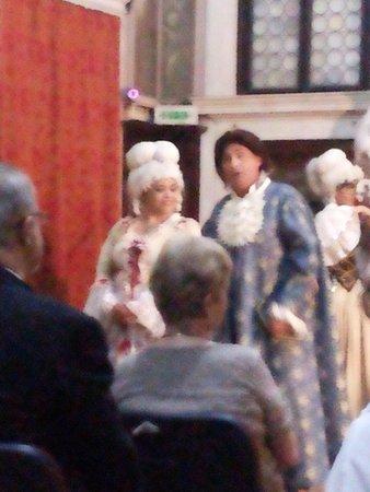 Scuola Grande dei Carmini: cantores de ópera