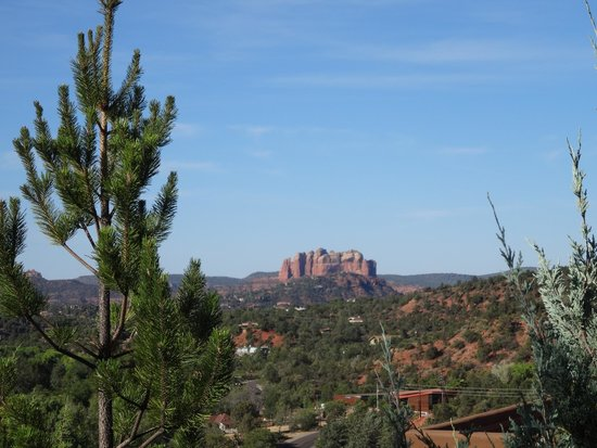 Hyatt Residence Club Sedona, Pinon Pointe: View from pool area