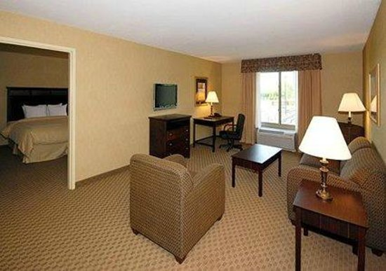 Comfort Suites Milwaukee - Park Place: Extended stay living room