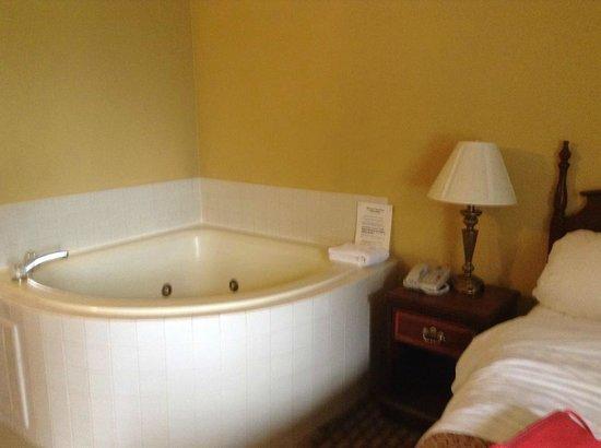 Best Western Intracoastal Inn: jacuzzi in room