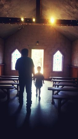 Enchanted Springs Ranch : Inside the church