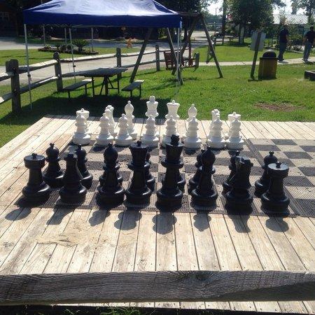 New Bern KOA : Wizard's Chess!